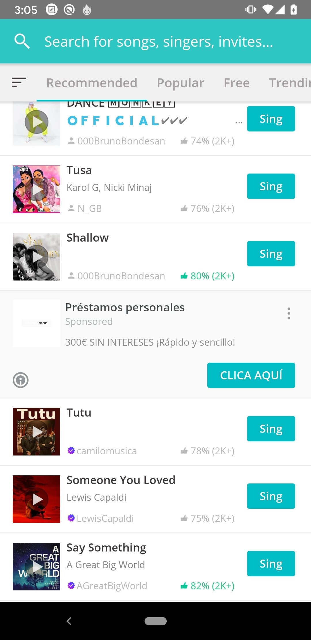 Smule 6 5 1 - Download for Android APK Free