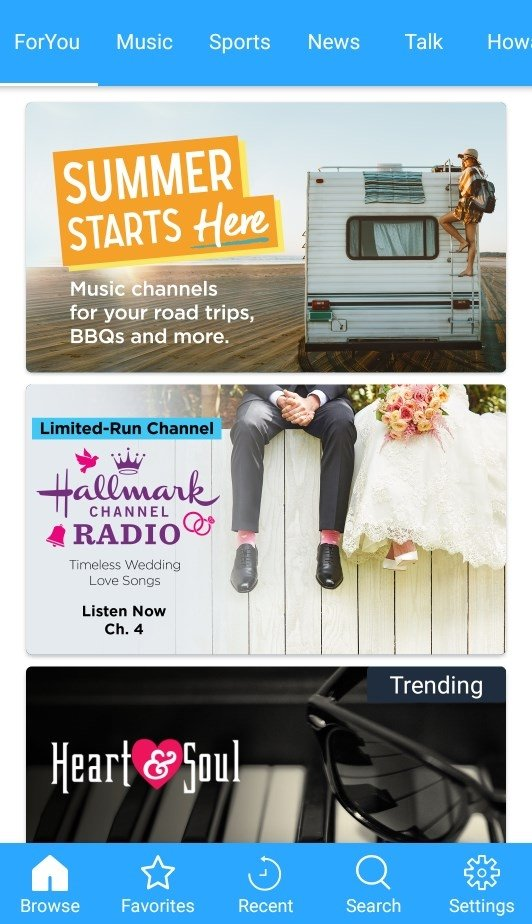 SiriusXM 5 4 6 - Download for Android APK Free