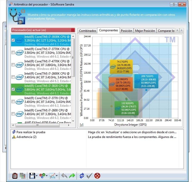 SiSoftware Sandra image 6