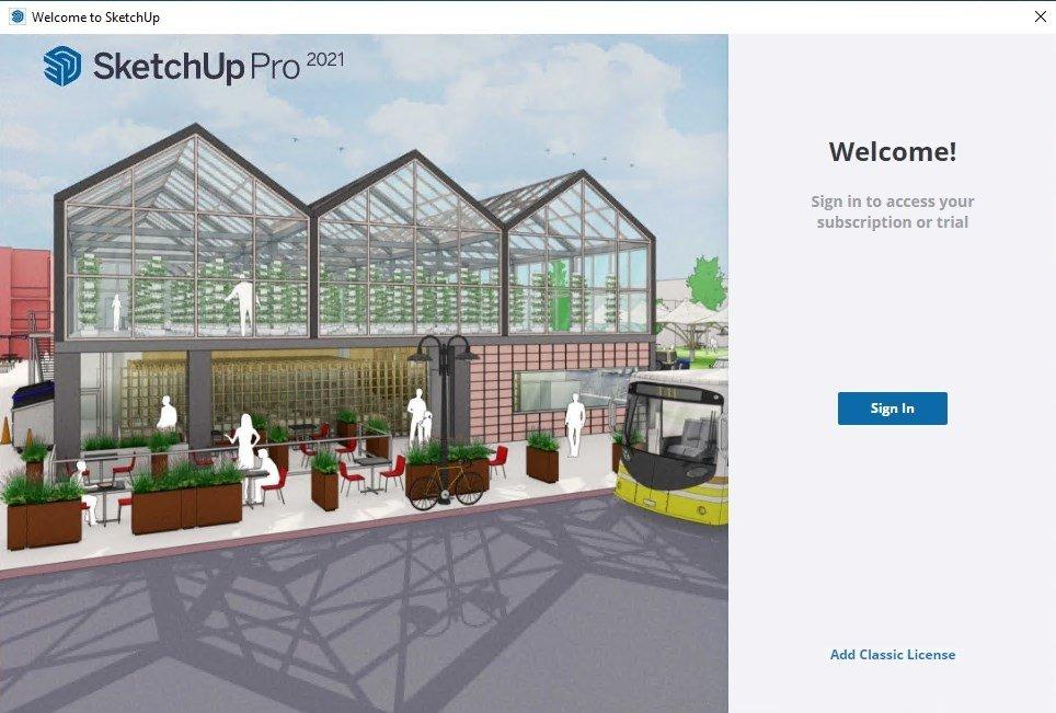 Download sketchup make 2016 gratis in italiano for Software per disegno 3d
