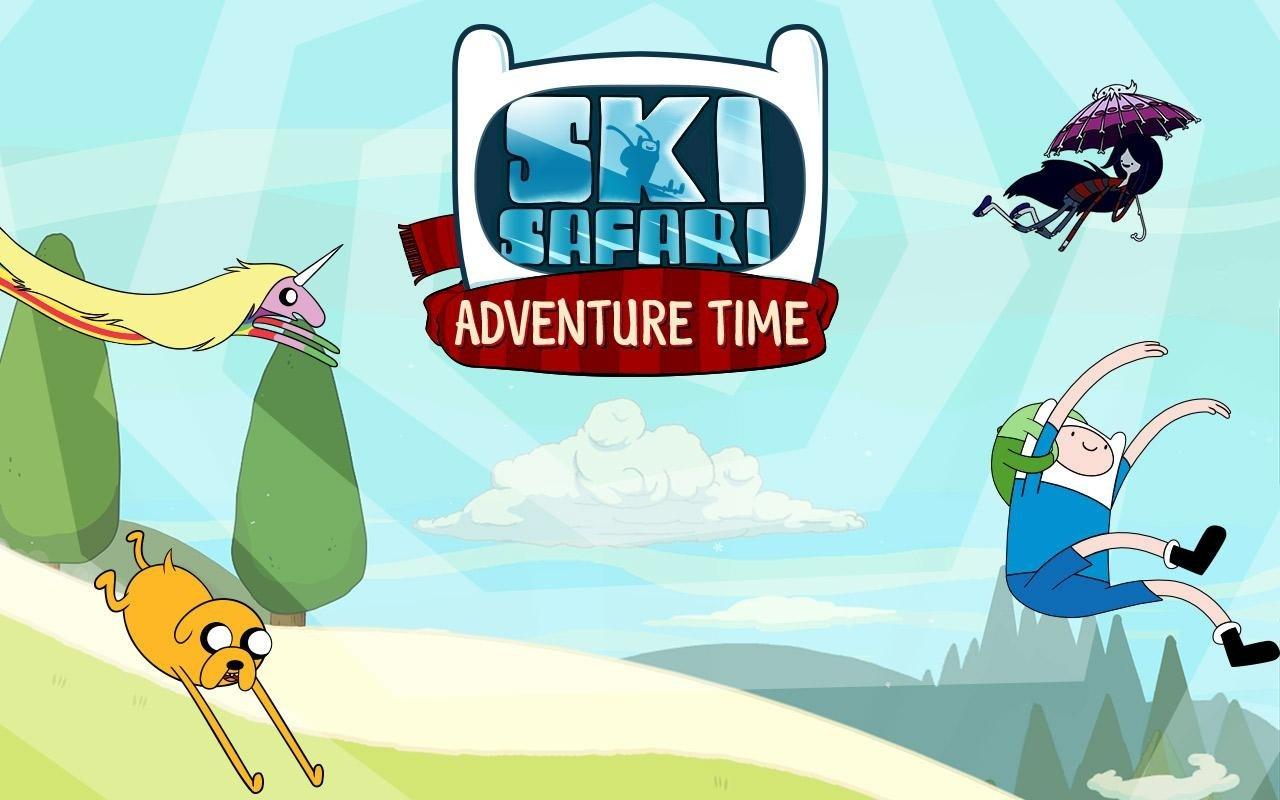 Ski Safari: Adventure Time Android image 5