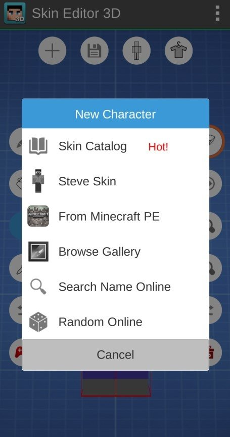 Skin Editor 3D for Minecraft 1 7 - Download for Android APK Free