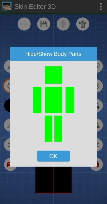 Skin Editor 3D for Minecraft 1 7 - Baixar para Android APK