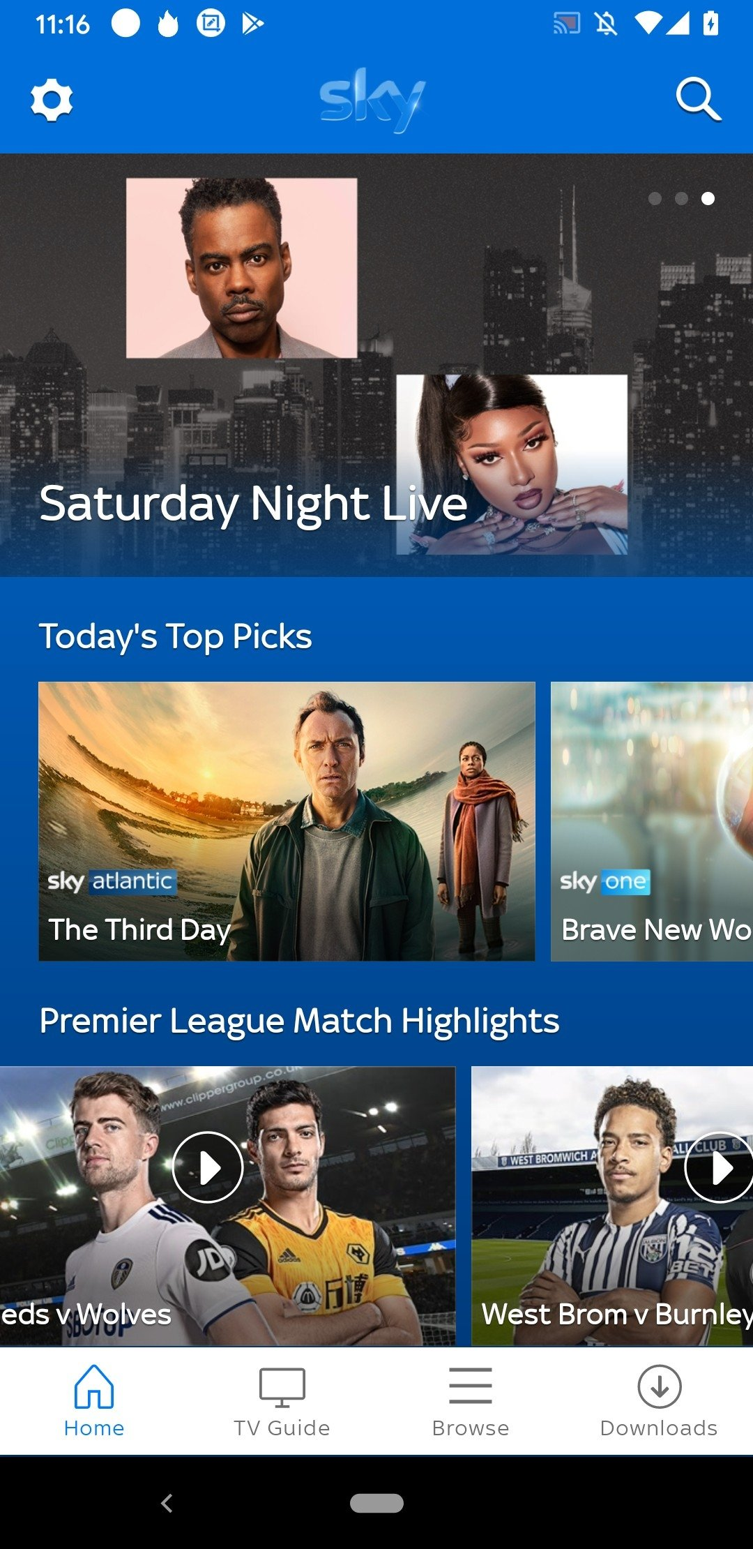 Sky Go Android image 5