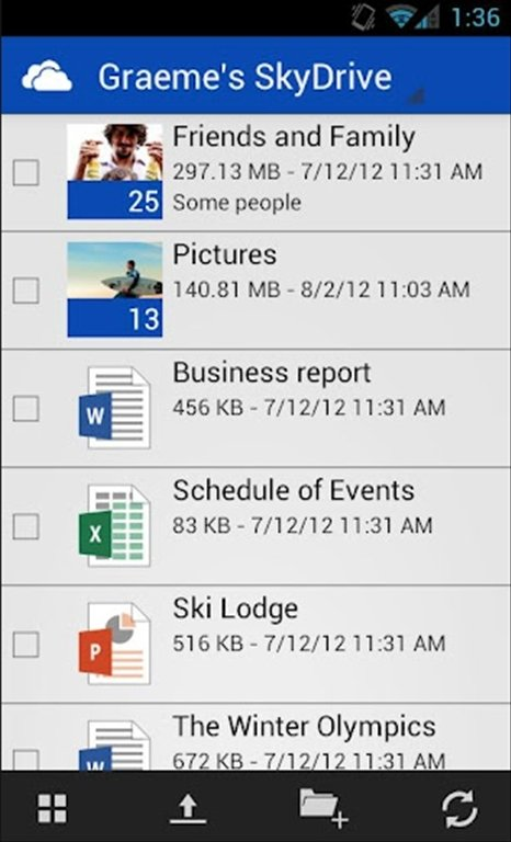 SkyDrive Android image 6
