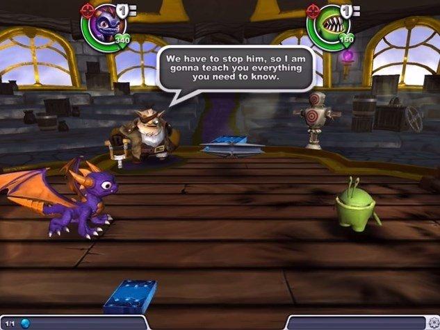 Skylanders Battlecast Android image 5
