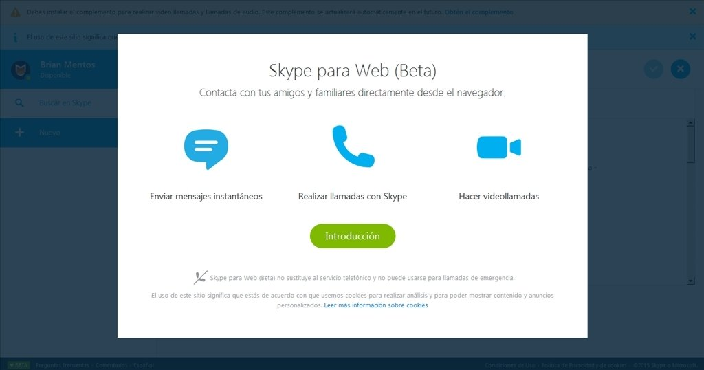 Skype for Web Webapps image 4
