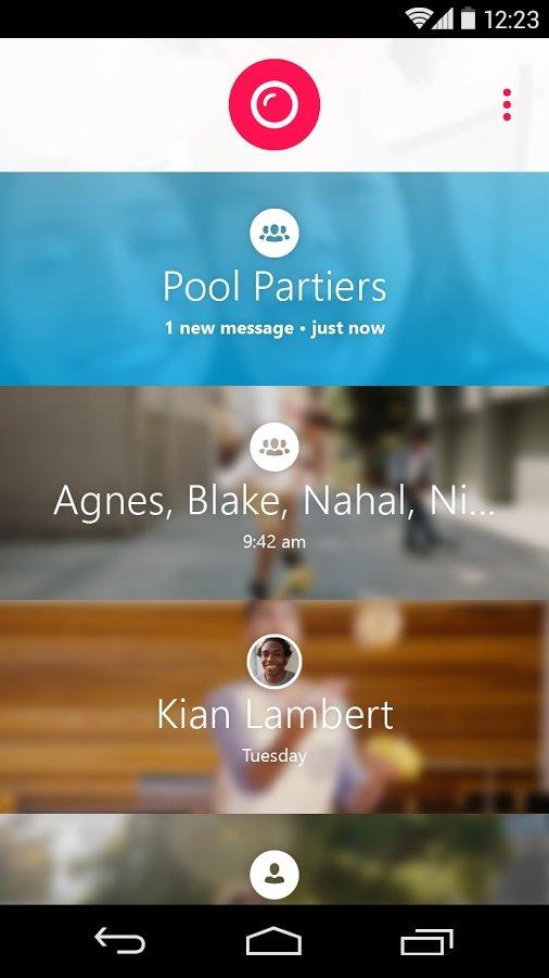 Skype Qik Android image 5