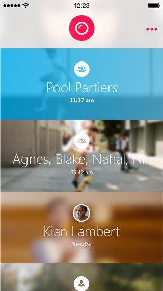 Skype Qik iPhone image 5