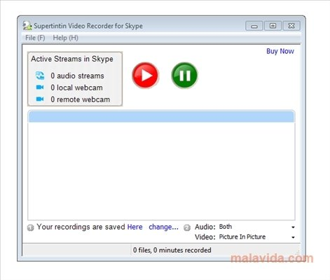 Skype Video Call Recorder 1.2.0.4