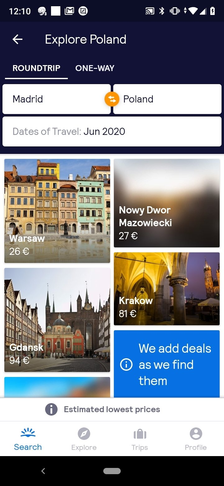 Skyscanner Android image 6