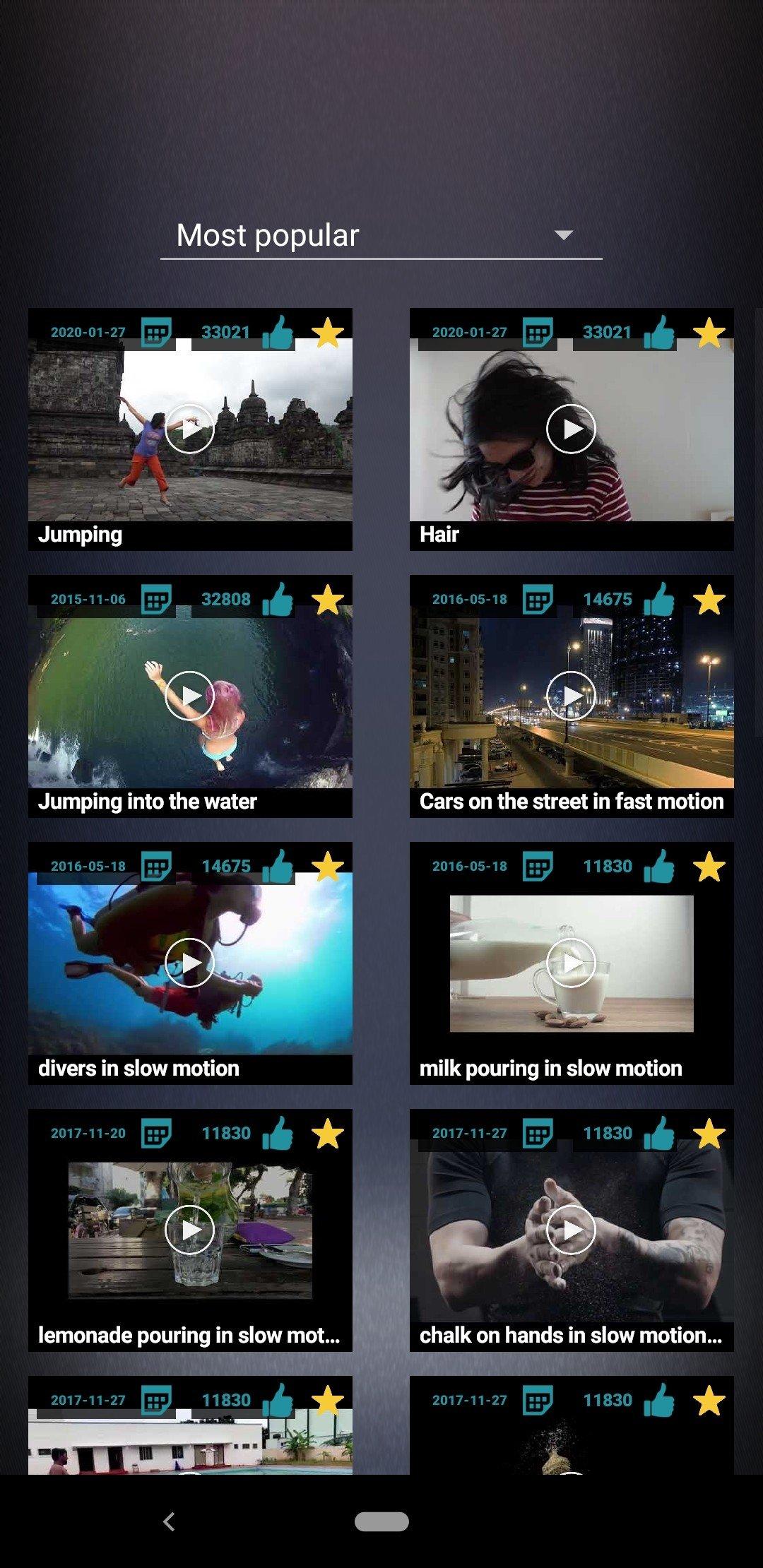 Slow Motion Video Fx 1226 Descargar Para Android Apk Gratis