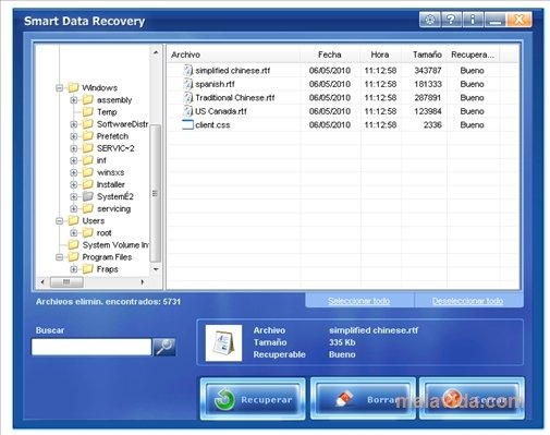 Smart Data Recovery 5 0 - Download for PC Free