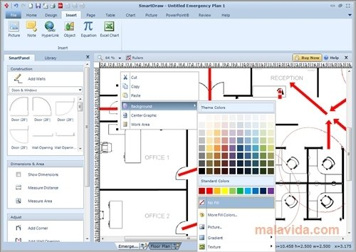 Kitchen design software download smartdraw free to easily draw (790).