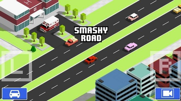 Smashy Road: Wanted Android image 4