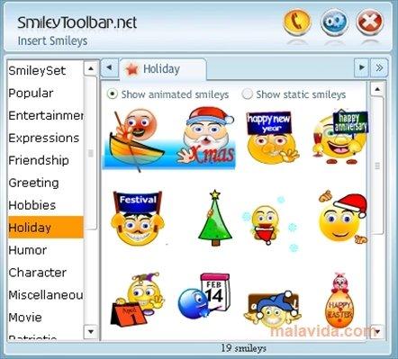 Smileystoolbar image 4