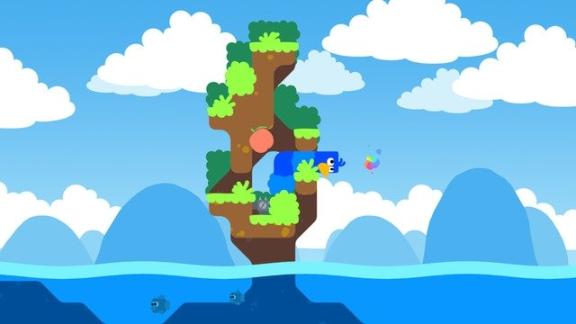 Snakebird iPhone image 5