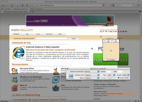 Snapz Pro X Mac image 4