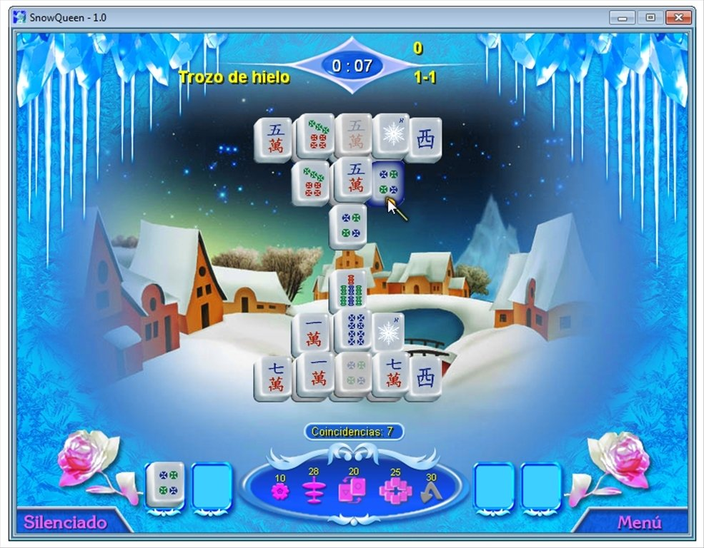 Snow Queen Mahjong - Download for PC Free