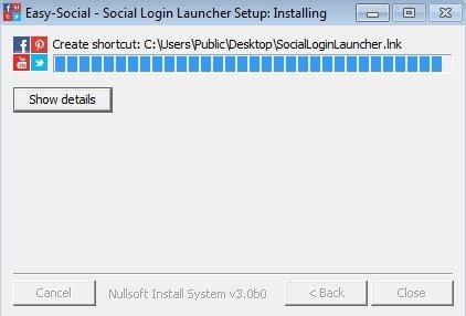 Social Login Launcher