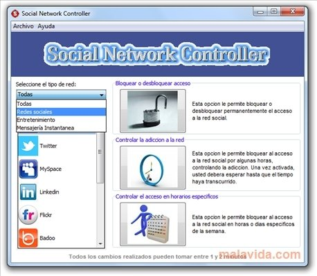 Social Network Controller image 5