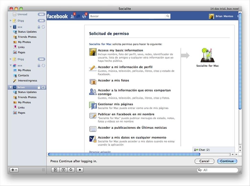 Socialite Mac image 5