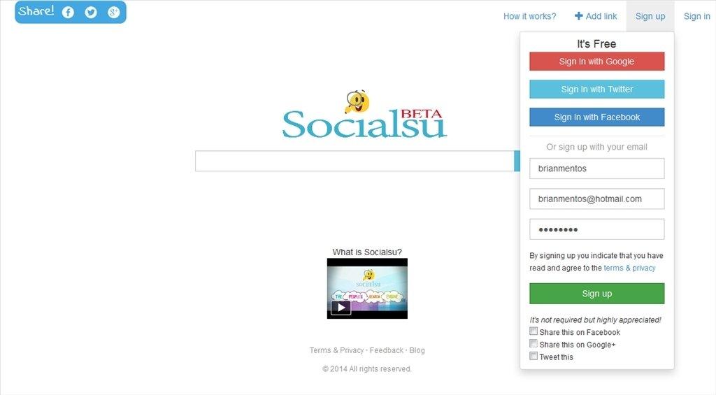 Socialsu Webapps image 4