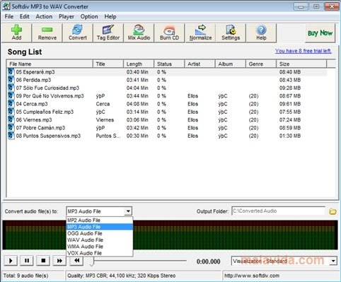 convert cda to mp3 online