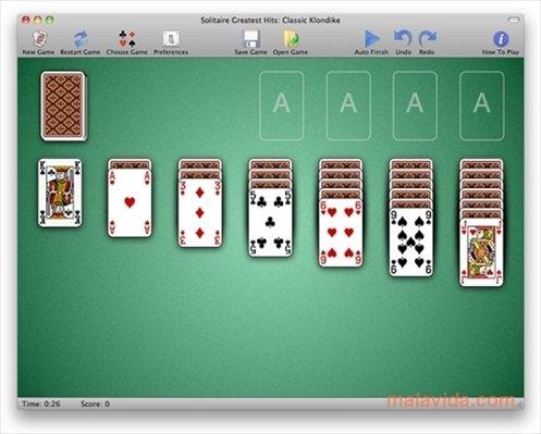 jeu de solitaire classique gratuit à une carte | koolsol