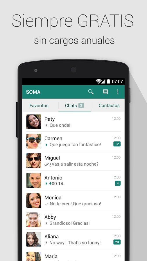 SOMA Messenger Android image 4
