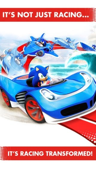 Sonic & All-Stars Racing Transformed iPhone image 5