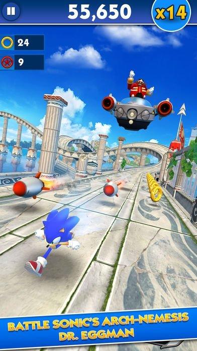 Sonic Dash iPhone image 5