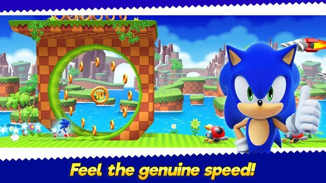 SONIC RUNNERS iPhone image 5