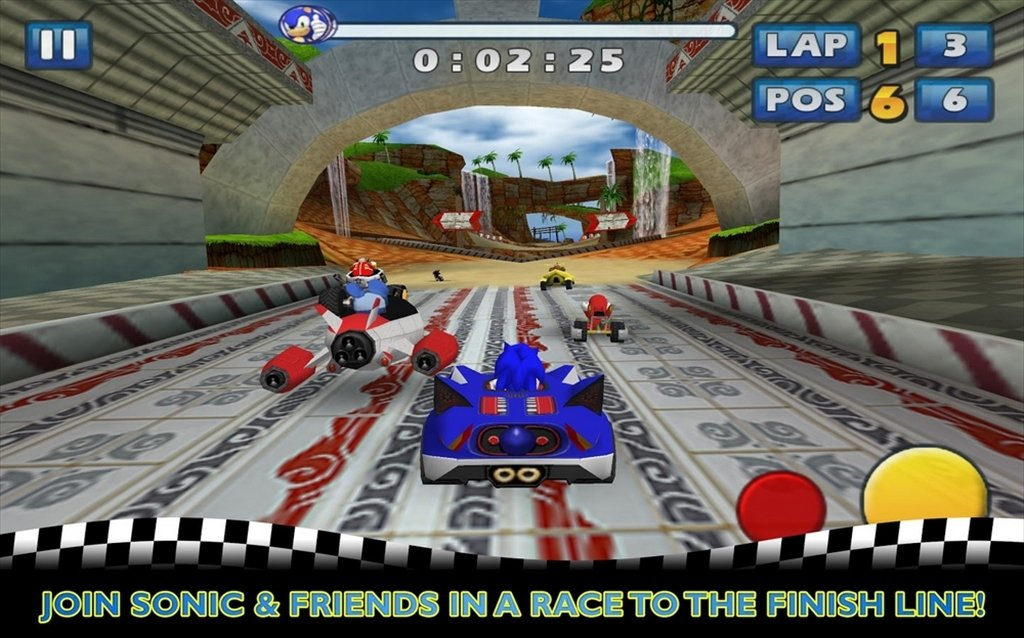 Sonic & SEGA All-Stars Racing Android image 6