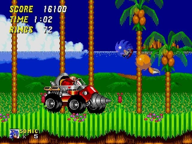 Sonic the hedgehog 2 classic relive the sega genesis action.