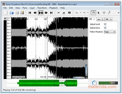 Sonic Visualiser 3 1 1 - Download for PC Free