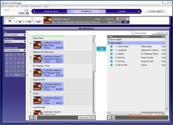 sonicstage 4.3 pour windows 7