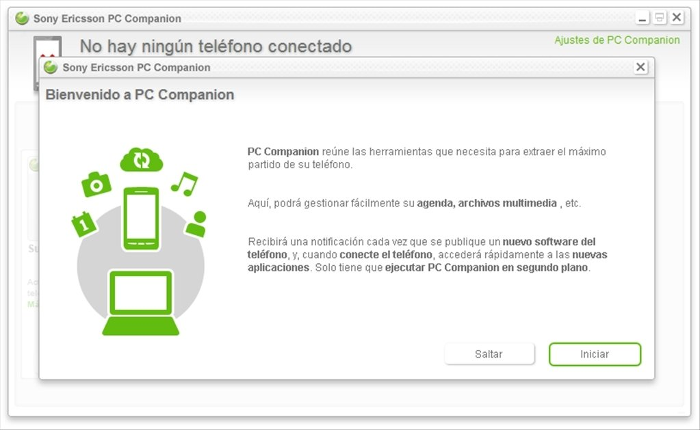 Sony Ericsson PC Companion 2.10.211