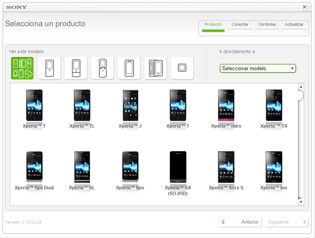 Descargar Sony Ericsson Update Service 213420 Gratis