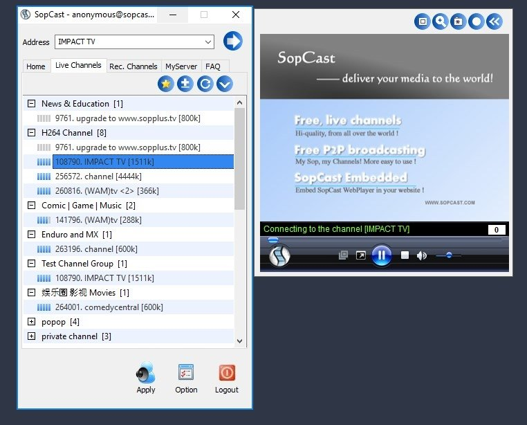 sopcast download free