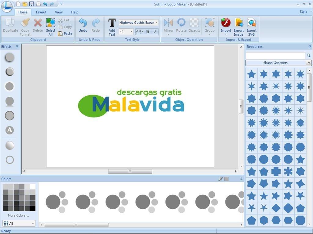 Créer rapidement et facilement des logos