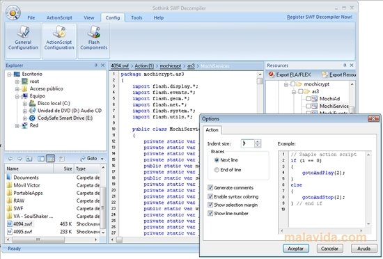 Sothink SWF Decompiler 7 4 5320 - Download for PC Free