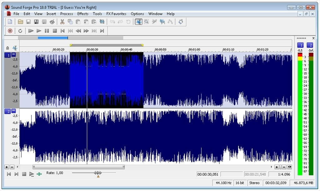 Sound Forge Pro 11.0.299