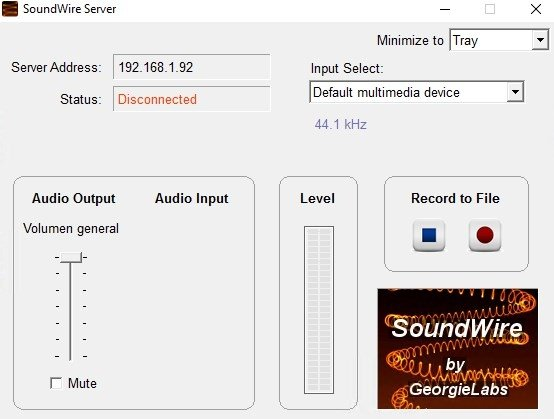 SoundWire Server 2 5 - Download for PC Free