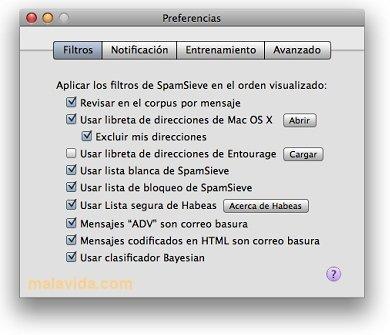 SpamSieve Mac image 4