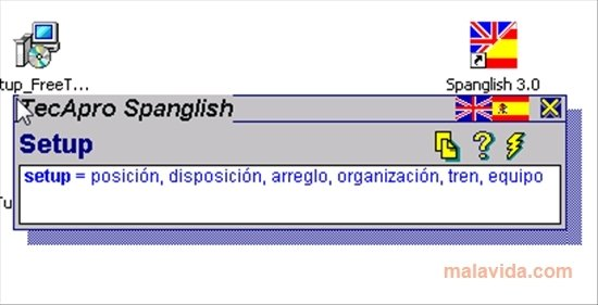X spanglish version traduction