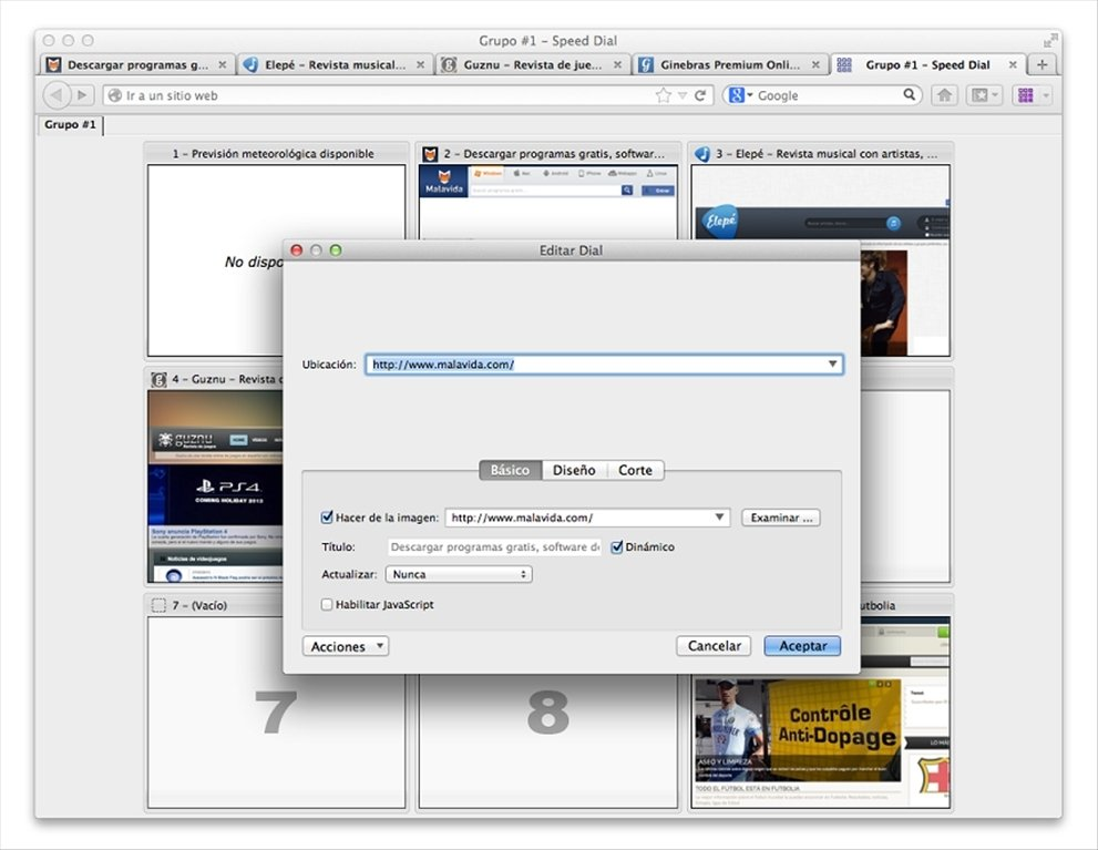 Speed Dial 0 9 6 15 - Download for Mac Free