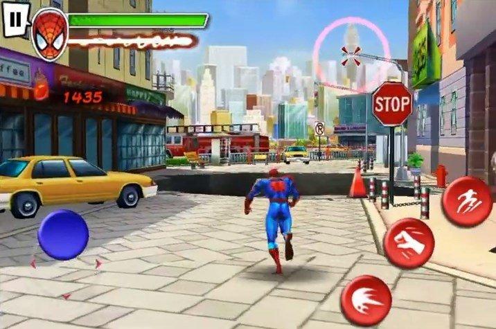 spielen spider man