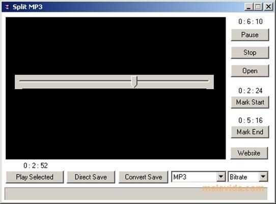 Split MP3