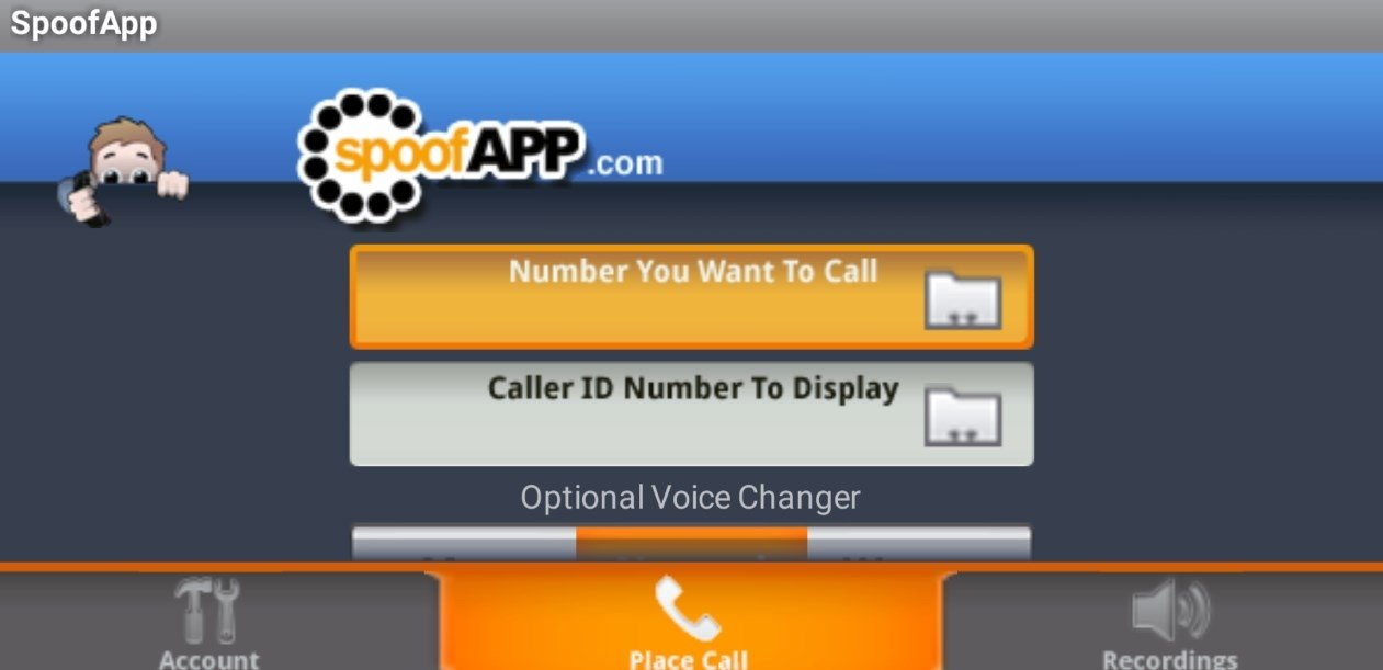 free call spoofing app for android